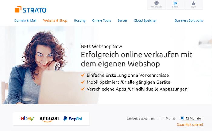STRATO Webshop Now  das Shopsystem für kleine und mittelgroße ... 4a7c46320b